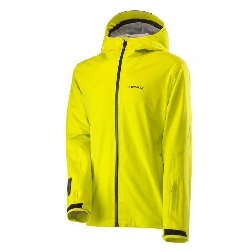 3L Jacket Men Yellow Race/Black