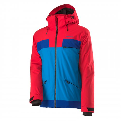 2L Insulated  Jacket Men Red/Lagoon