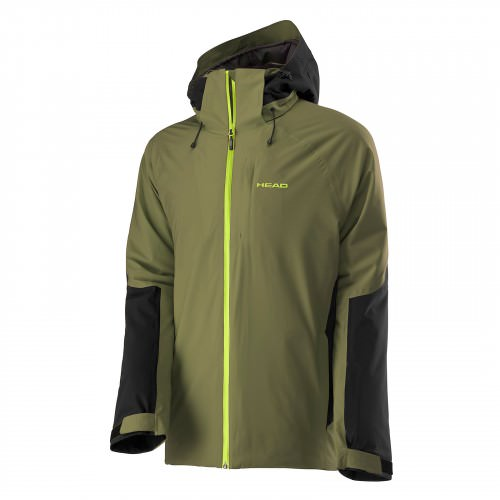 2L Eclipse Jacket Men Olive/Black