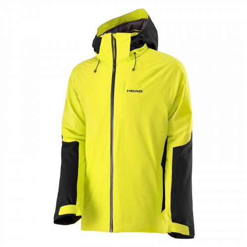 2L Eclipse Jacket Men Yellow Race/Black