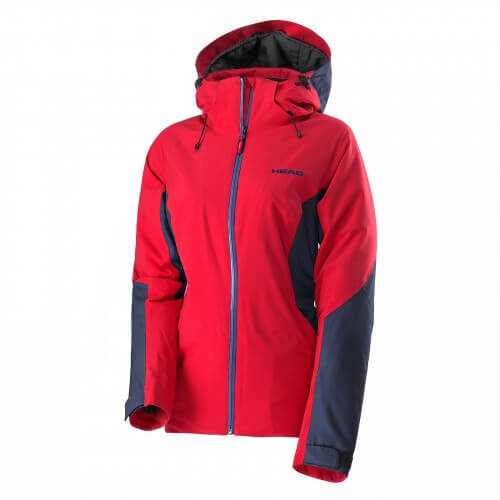 2L Crystal Jacket Women Red/Navy