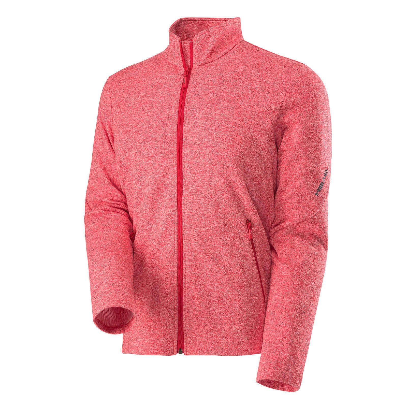 Syst-l Fleece FZ Jacket Men Red