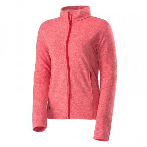 Syst-l Fleece FZ Jacket Women Red
