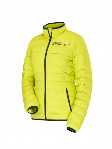 RACE CLUB Insulated Jacket W Yellow