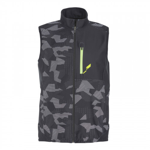 Race Lightning Team Vest JR Softshell